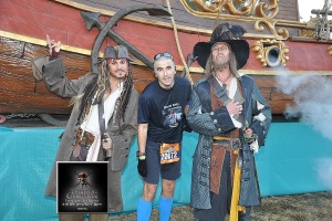 Meeting Captain's Jack and Barbosa