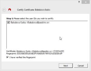 Certify Certificate