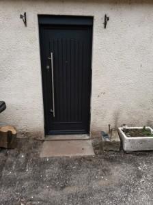 Our new door