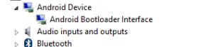 Bootloader device